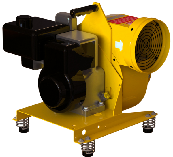 Image of a Gasoline Powered Centrifugal Blower