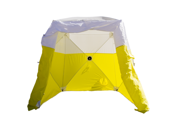 Image of an Interlocking Series Tent