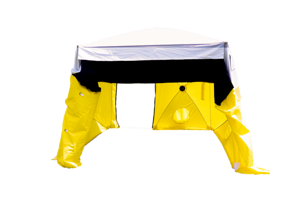 Image of the All-Weather Fiber Splicing Tent