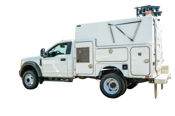 Photo of the Utility Support Truck