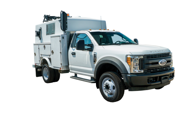 image of the front of the Utility Support Truck