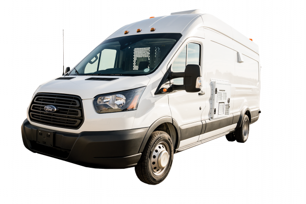 Image of the Fiber Splicing Van Front