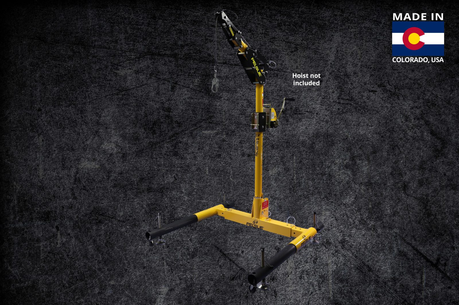 Portable Davit Fall Protection Systems | Pelsue Fall