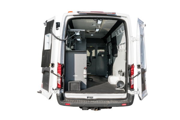 Image of the High Roof Van Rear