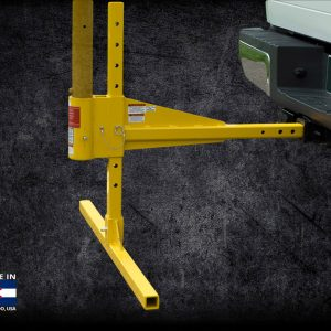 Image of the Davit Vehicle Hitch Mount Graphic