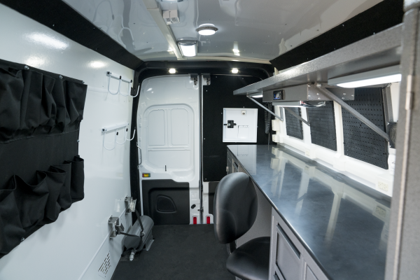 Image of the High Roof Van Interior