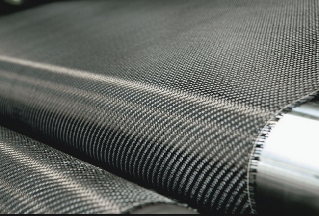 Sheet of carbon fiber fabric